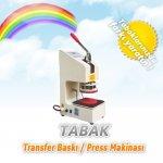 Tabak  Baskı-Transfer Baskı Makinesi  Manuel Tekli----790   Tl