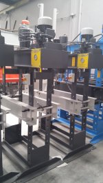 Hydraulic Press ..50 Ton Atölye Presi