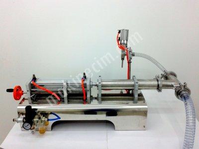 Süt sıvı Ve Yoğurt Dolum Makinesi  Kulp Dolum Makınesi Gramajlı Dolum