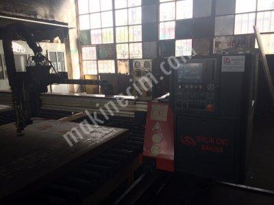 Yıldırım Makina 3000 X 12000  Mm  Cnc Oxy Plazma Kesim Makinası + Duman Emme Ve Filtrasyon Sistemi