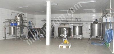 Ayran Ve Yoğurt Üretim Tesis Makineleri  Proses Makineleri