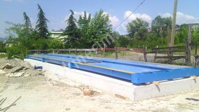 3X24 80 Ton Çelik Platformlu Tır Kantarı Ergunlar A.ş