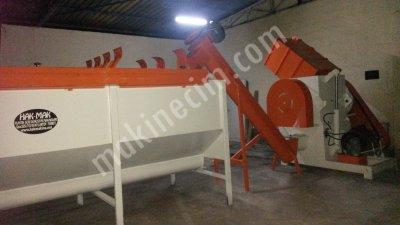 Pastık Gerı Donusum Makınaları Kırma Yıkama Akromel Granür Makinası
