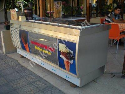 Satılık 2. El ÇOK TEMİZ SATILIK SEVEL DONDURMA MAKİNASI Fiyatları Muğla dondurma makinası,ice cream,satılık,dondurma,makina