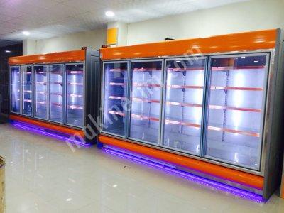 2. El Fiyatına Sıfır Sütlük Dolap Ve Market Raf Sistemleri İmalattan Satılık