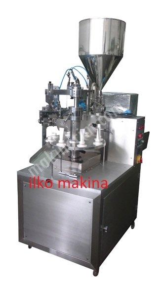 Rodk300U Ultrasonik Krem Tüp Dolum Ve Yapıştırma Makinası