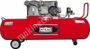 Satılık Sıfır Attlas ZJ20200C Monofaze Yağlı Kompresör - 200 LT Fiyatları İstanbul kompresör,hava kompresörleri,yağlı kompresör,kompresör fiyatları