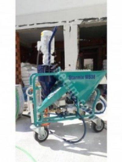 Satılık Sıfır Starmix Monster 38 Alçı Sıva Makinası Fiyatları Trabzon rüzgar makina 0543925693,alçı sıva makinası pff g4 alçı sıva makinası alçı makinası,alçı sıva makinası