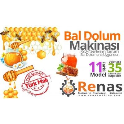 Satılık Sıfır Renas Bal Dolum Makinası 500-5000 ML Fiyatları İstanbul bal dolum makinası,sıvı dolum makinası