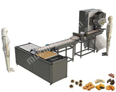 Satılık Sıfır dolgulu bisküvi makinası Fiyatları Karaman dolgulu bisküvi depozitörü,centerfilled cookies depositor,cookie extruder,bisküvi ekstrüderi,twisted centerfilled cookie production machine