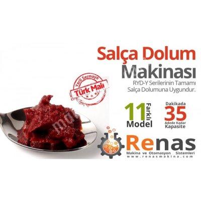 Renas Salça Dolum Makinası