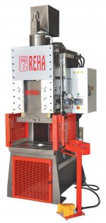 C Type Fast Hydraulic Press 80 Tons