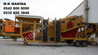Mobile Sand Washing Screening Plant - 617
