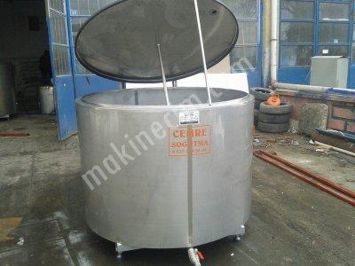 Satılık Sıfır SU SOGUTMA TANKI 2 TONLUK SAMANDRA SISTEMLİ Fiyatları Burdur su soğutma tankı