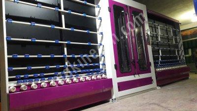 Satılık Sıfır Isıcam  cam işleme makineleri Fiyatları İstanbul Isıcam camişleme makineleri 2.el ikinciel ısıcam camişleme makineleri ısıcam yıkama makinesi  cam yıkama makinası yedek parça servisi CNC manuel cam kesim makinesi tiyakol THIOKOL tabancası mikseri M