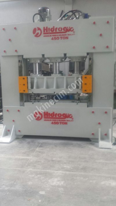 Hydraulic Press ..hidrogüç 450 Ton Sac Desen Presi