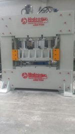Hydraulic Press ..HİDROGÜÇ 450 TON SAC DESEN PRESİ
