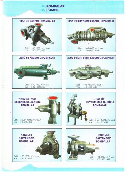 Tarımsal Sulama Pompaları Ve Modelleri