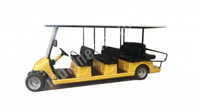 Cordless 12 People Passenger Carrying Vehicle