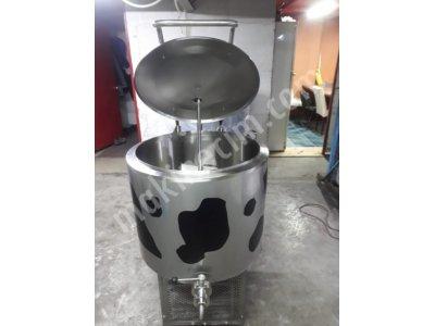 Hesaplı Süt Soğutma Tankları 200 Lt  Dikey Tip