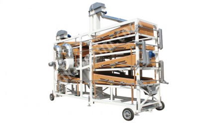 Geliştirilmiş Orta Boy Bakliyat Eleme Makinası Tem 002