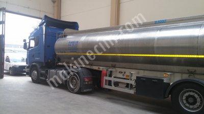 Stainless Steel Tanker Trailer
