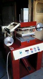 Tam Otomatik Kurdeleye Varak Baskı-Varak Transfer Baskı Makinesi