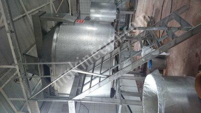 Satılık 2. El Kaşar Proses Tankı Fiyatları İstanbul kaşar,proses,tank,mandıra