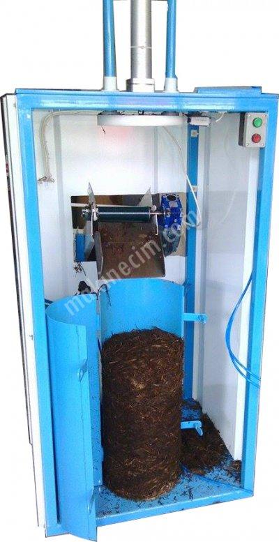 Satılık Sıfır Femaksan mantar kompost pres ve paketleme makinası Fiyatları Konya mantar,kompost,misel,kompostpaketleme