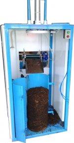 Femaksan mantar kompost pres ve paketleme makinası