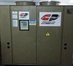 Satılık 2. El 380 Kw= 325.000 Kcal/h Amerikan Trane Vidalı Chiller Soğutma Grubu