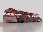 Paralı-Jetonlu Self Servis Oto Yıkama  Alanı Merkezi Oto Yıkama Sistemleri Petrollere Ve Otoparklara