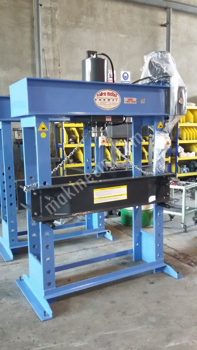 160 HYDRAULIC WORK SHOP PRESS