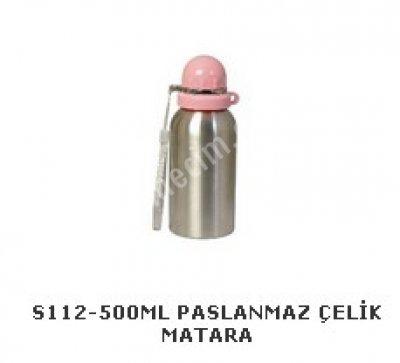 S112-500Ml Paslanmaz Çelik Matara