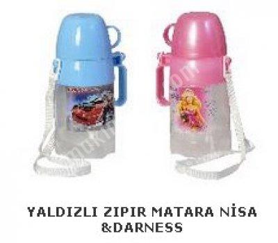 Yaldızlı Zıpır Matara Nisa &darness