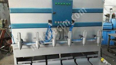 Fırsat Ürün Sıfır  6 Gözlü Sıvı Dolum Makinesi -- Siparişe İmalat   14500  Tl