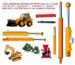 kepçe hidrolik sistemleri, iş makinaları hidrolik sistemleri, traktör kepçe pistonları,