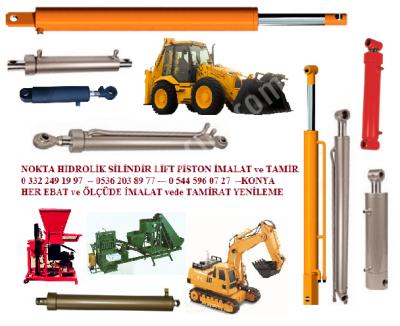 Traktör Arka Kepçe Pistonu Konya İş Makina Piston Silindir Konya, Dozer Kepçe Pistonu Konya,