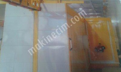 Satılık Sıfır usten paletli tozboyafirinive kabini Fiyatları İstanbul hasmakina