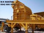 Mobil Taş Ve Maden Kırma Eleme Tesisleri , M-K Makina