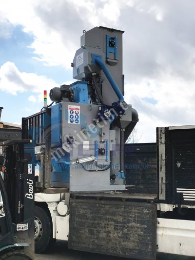 Tamburlu Kumlama Makinesi - Tumble Belt Shot Blasting Machine