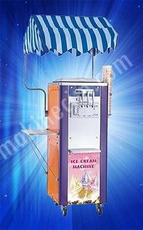 İhtiyaçtan Satılık Soft Dondurma Makinası