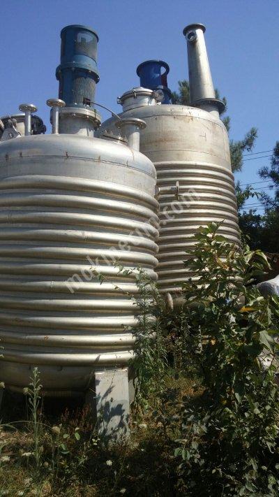 Paslanmaz Süt Tankı 30 Tonluk Krom Çelik Ürün Depolama Tankı