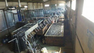Satılık İkinci El SATILIK REDRESÖRLER VE GALVANİZ TESİSİ Fiyatları Kayseri Redresör galvaniz kaplama çinko kaplama tesisi