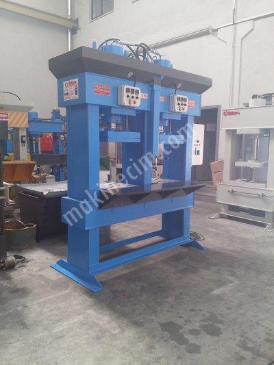 Hydraulic Press ..150 Ton Çift Gözlü Kauçuk Pres
