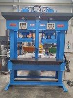 Hydraulic Press ..hidrolik Pres - Çift Gözlü Kauçuk Presi 150 Ton
