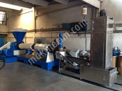 Satılık 2. El İzmir Teknik Makina Plastik Makinaları - 130'luk Granül Makinası Fiyatları İzmir granül,agromel,tek kafa,çift kafa,döner kafa,kesim makinaları,plastik,geri dönüşüm