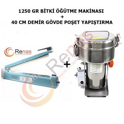 Satılık Sıfır MANUAL GIDA ÖĞÜTÜCÜ VE KAPATMA MAKİNASI Fiyatları İstanbul poşet yapıştırma makinası,bitki öğütücü,öğütme makinası