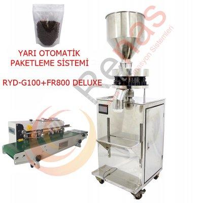 Satılık Sıfır RENAS YARI OTOMATİK DOYPAK PAKETLEME MAKİNASI Fiyatları İstanbul granül dolum makinası,paketleme makinası,dolum makinaları,otomatik dolum makinası