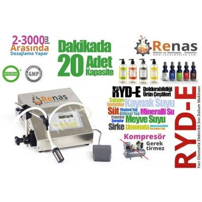 Ryd-E Elektronik Sıvı Dolum Makinası (3-3000Ml)